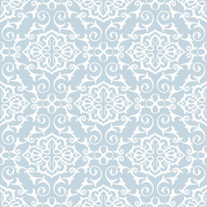 Damask Style Pattern Wallpaper