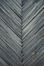 Dark Wood Planks Wall Mural