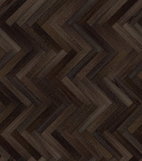 Dark Wood Herringbone Pattern Mural Wallpaper