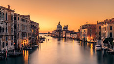 Dawn on Venice Wallpaper Mural