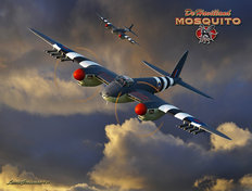 de Havilland Mosquito Wall Mural