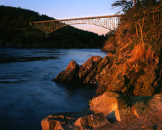 Deception Pass State Park, Washington Wall Mural