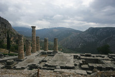 Delphi, Greece Mural Wallpaper
