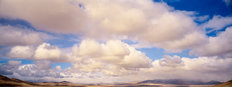 Desert Clouds Wall Mural