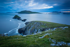 Dingle Peninsula at Twilight Mural Wallpaper