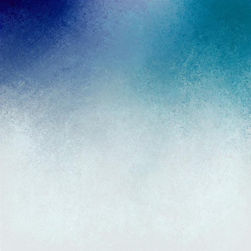Distressed Blue and White Ombre Wallpaper Mural