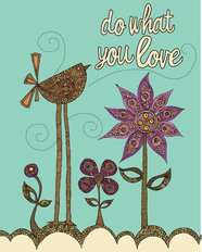 Do What You Love Mural Wallpaper