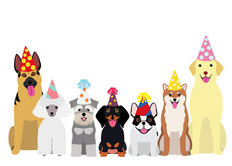 Dog Party Wall Mural
