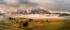 Dolomites Myths Wallpaper Mural