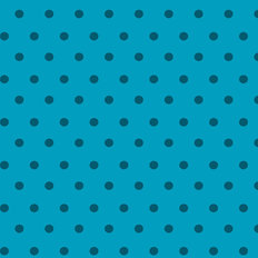 Dots - Blue & Blue Wallpaper