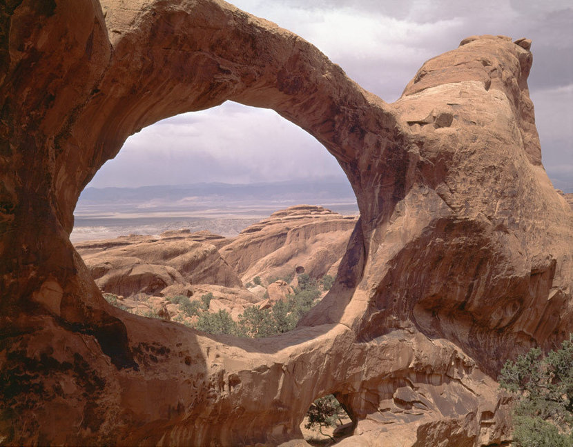 Double O Arch in the Devils Garden area