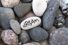 Dream Pebbles Wall Mural