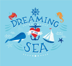 Dreaming Of The Sea Wallpaper Mural