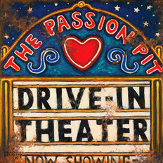 Drive In Theater Wall Mural