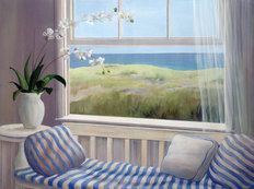 Dune Window Wall Mural