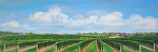 East End Vineyard Mural Wallpaper