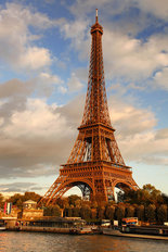 Eiffel Tower In Paris, France Wallpaper Mural