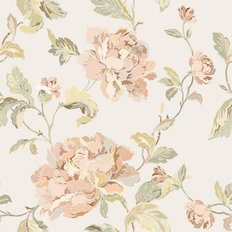 Elegance In Bloom Pattern Wallpaper