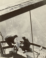 Building The Empire State Building Wallpaper Mural