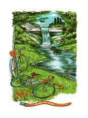 Enjoy The Ride Minneapolis Wall Mural