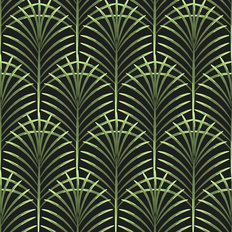 Fanning Palms Pattern Wallpaper