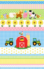 Farm Friends 2 Mural Wallpaper