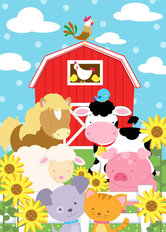 Farm Friends Wall Mural