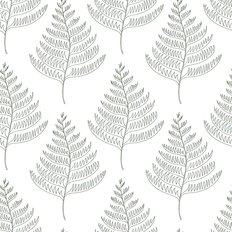 Fern Leaves Pattern Wallpaper