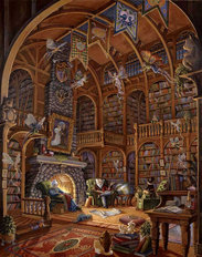 Fireside Fairytales Wallpaper Mural