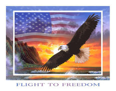 Flight To Freedom Wall Mural