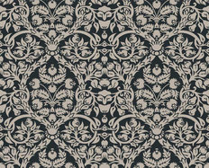 Floral Damask Pattern Wallpaper