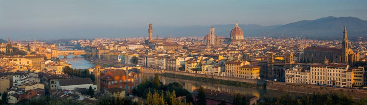 Florence Panoramic Mural Wallpaper