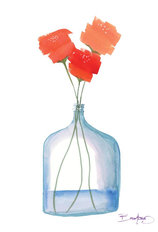 Flowers in a Jar 5 Mural Wallpaper