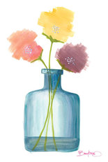 Flowers in a Jar 6 Mural Wallpaper