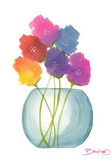 Flowers in a Jar 8 Mural Wallpaper