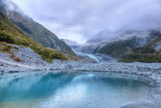 Fox Glacier in New Zealand Wall Mural