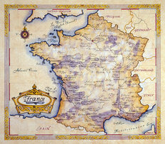 France (One Treasure Limited) Wall Mural