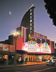 Fremont Theatre-Night Wallpaper Mural