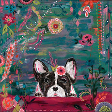 Frenchie Wall Mural