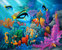 Friends Of The Sea (Miller) Wall Mural
