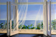 Garden Breeze Mural Wallpaper