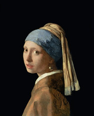 Girl With A Pearl Earring Wallpaper Mural