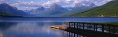 Glacier National Park Panoramic Wall Mural