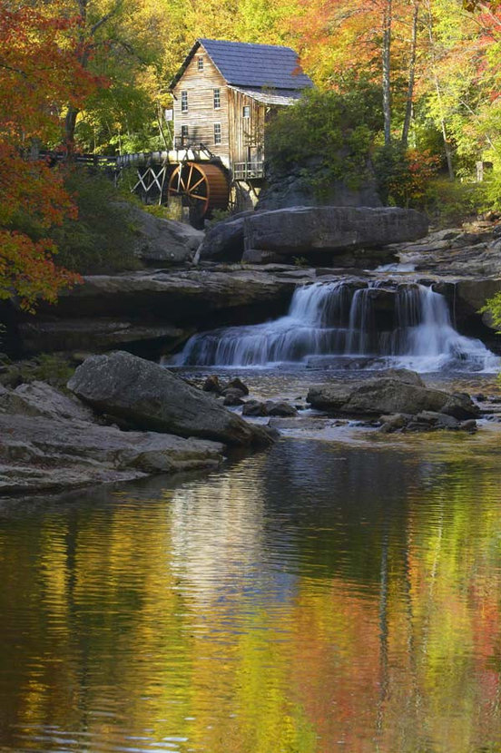 Glade Creek Grist Mill Wall Mural