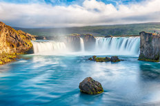 Godafoss Icelandic Waterfall Wall Mural
