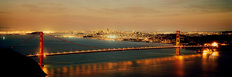 Golden Gate Bridge At Dusk Wallpaper Mural