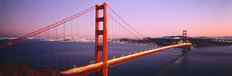 Golden Gate Bridge At Night San Francisco Wallpaper Mural