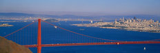 Golden Gate Bridge Panorama - San Francisco, CA Wallpaper Mural