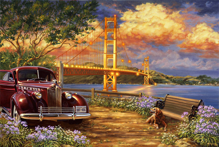 Golden Gate (Gelsinger) Wall Mural