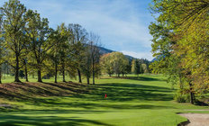 Countryside Golf Course Mural Wallpaper